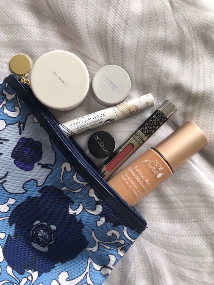 My All-Natural and Cruelty Free MakeupBag